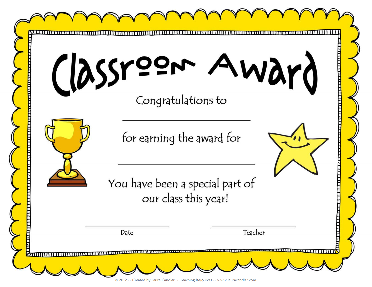 Awesome Collection For Classroom Certificates Templates Within Classroom Certificates Templates