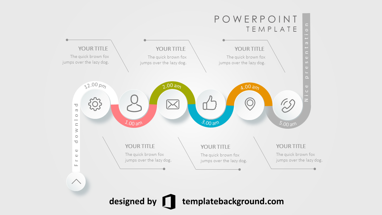 Awesome Images Of Free Animated Powerpoint Presentation In Powerpoint Presentation Animation Templates