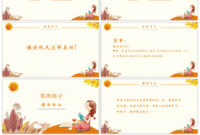 Awesome The Ppt Template Of Fairy Tale Language Courseware in Fairy Tale Powerpoint Template
