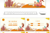 Awesome The Ppt Template Of Fairy Tale Language Courseware throughout Fairy Tale Powerpoint Template