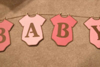 Baby Shower Banner Free Printable. Whole Alphabet Banner intended for Diy Baby Shower Banner Template