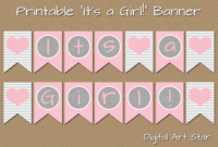 Baby Shower Banner Png – (++ Png Collections) for Diy Baby Shower Banner Template