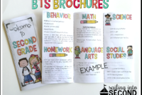 Back To School Night Brochure | Meet The Teacher Template with regard to Brochure Templates For School Project