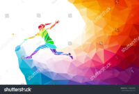 Badminton Sport Invitation Poster Or Flyer Background With for Sports Banner Templates