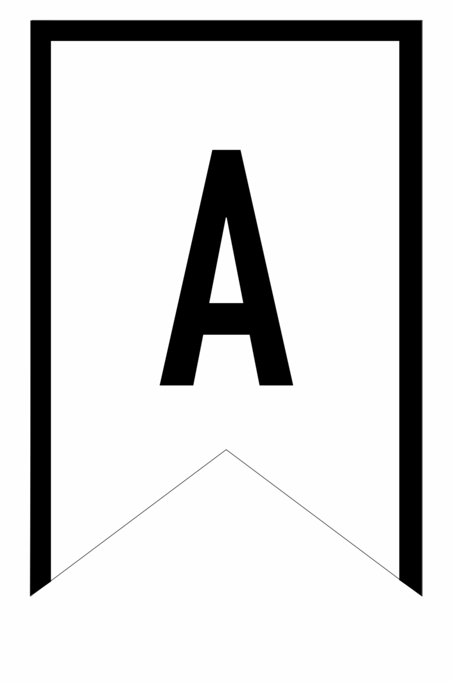 Banner Templates Free Printable Abc Letters - Printable In Free Letter Templates For Banners