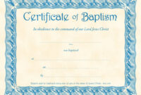 Baptism Certificate Template Publisher Download Christening within Baptism Certificate Template Download