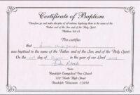 Baptism Certificates Free Online | Denver's Certificate Of pertaining to Baptism Certificate Template Download
