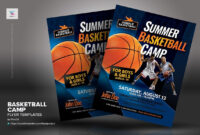 Basketball Camp Flyer Templates #inches#letter#placing throughout Basketball Camp Brochure Template