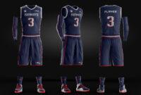 Basketball Uniform Jersey Psd Template On Behance with Blank Basketball Uniform Template