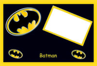 Batman Birthday: Free Printable Cards Or Invitations. – Oh with regard to Batman Birthday Card Template