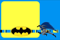Batman Free Printable Invitations. – Oh My Fiesta! In English with Batman Birthday Card Template