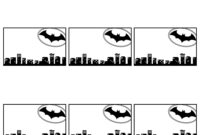 Batman Name Tags Free Printable – Paper Trail Design pertaining to Batman Birthday Card Template