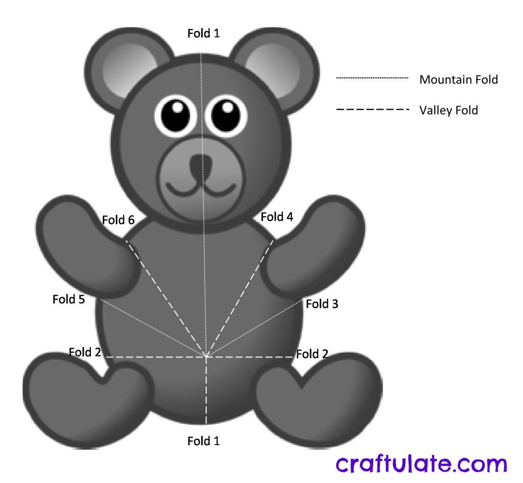 Bear Pop Up Card Tutorial - Craftulate Within Teddy Bear Pop Up Card Template Free