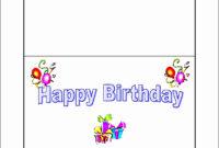 Beautiful 10 Free Microsoft Word Greeting Card Templates pertaining to Birthday Card Template Microsoft Word