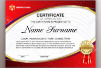 Beautiful Certificate Template Design With Best Award Symbol Within Beautiful Certificate Templates