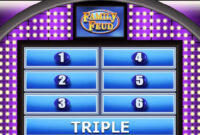 Beautiful Photograph Of Free Family Feud Powerpoint Template for Family Feud Powerpoint Template With Sound