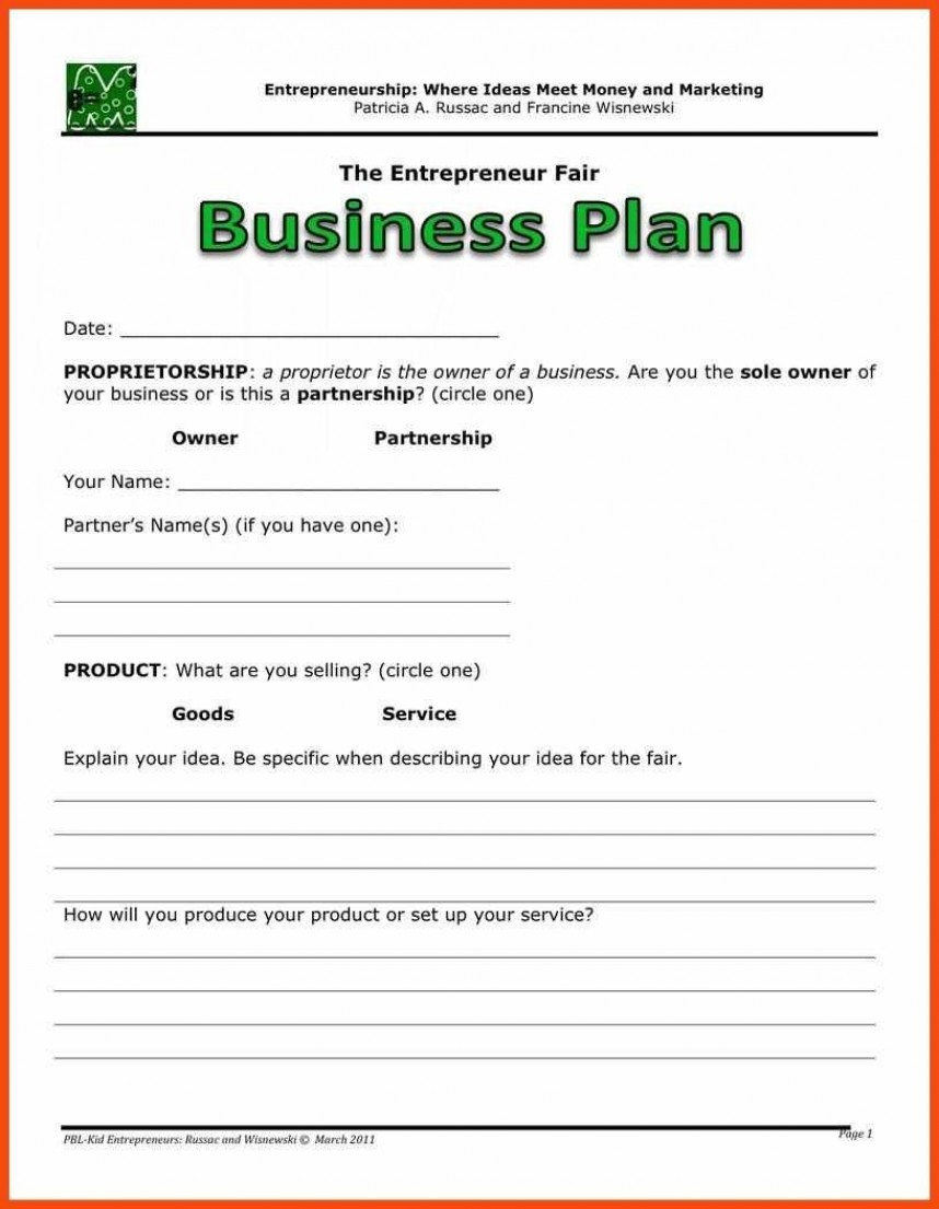 Beautiful Simple Business Plan Template Word Ideas Free Intended For Business Plan Template Free Word Document