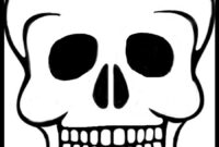 Best Photos Of Day Of Dead Skull Template – Day Of The Dead throughout Blank Sugar Skull Template