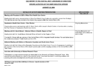 Best Photos Of Executive Directors Report Template within Monthly Board Report Template