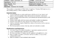 Best Photos Of Internal Job Posting Template Word – Resume for Internal Job Posting Template Word