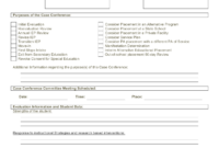 Best Photos Of Printable Iep Form – Blank Iep Form Template throughout Blank Iep Template