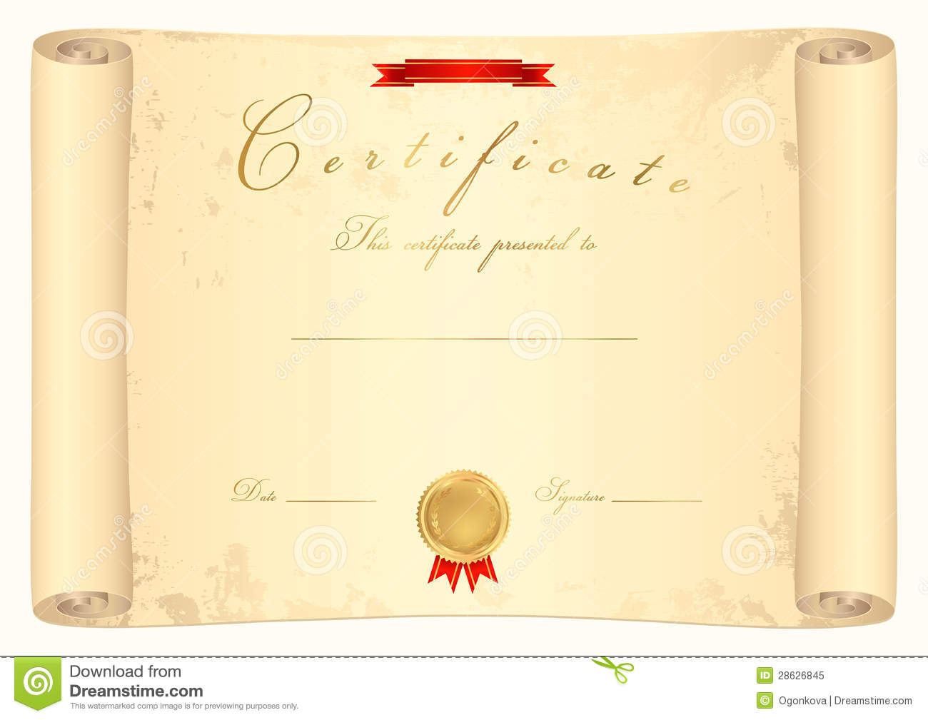 Best Solutions For Scroll Certificate Templates Also Pertaining To Scroll Certificate Templates
