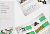 Bi Fold Brochure Template Publisher Free – Templates With 4 Fold Brochure Template Word