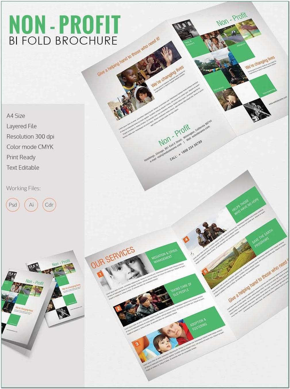 Bi Fold Brochure Template Publisher Free - Templates With 4 Fold Brochure Template Word