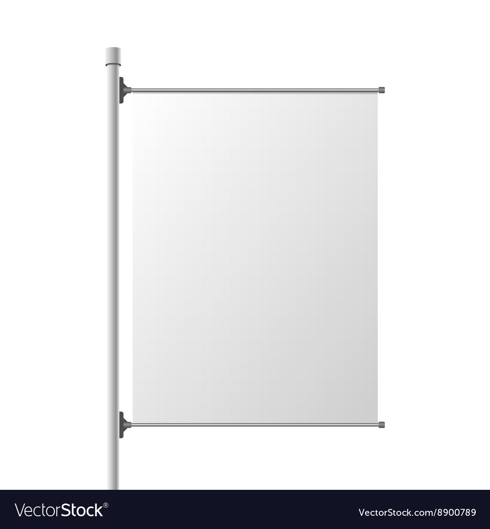 Big Street Banner Realistic Template In Street Banner Template