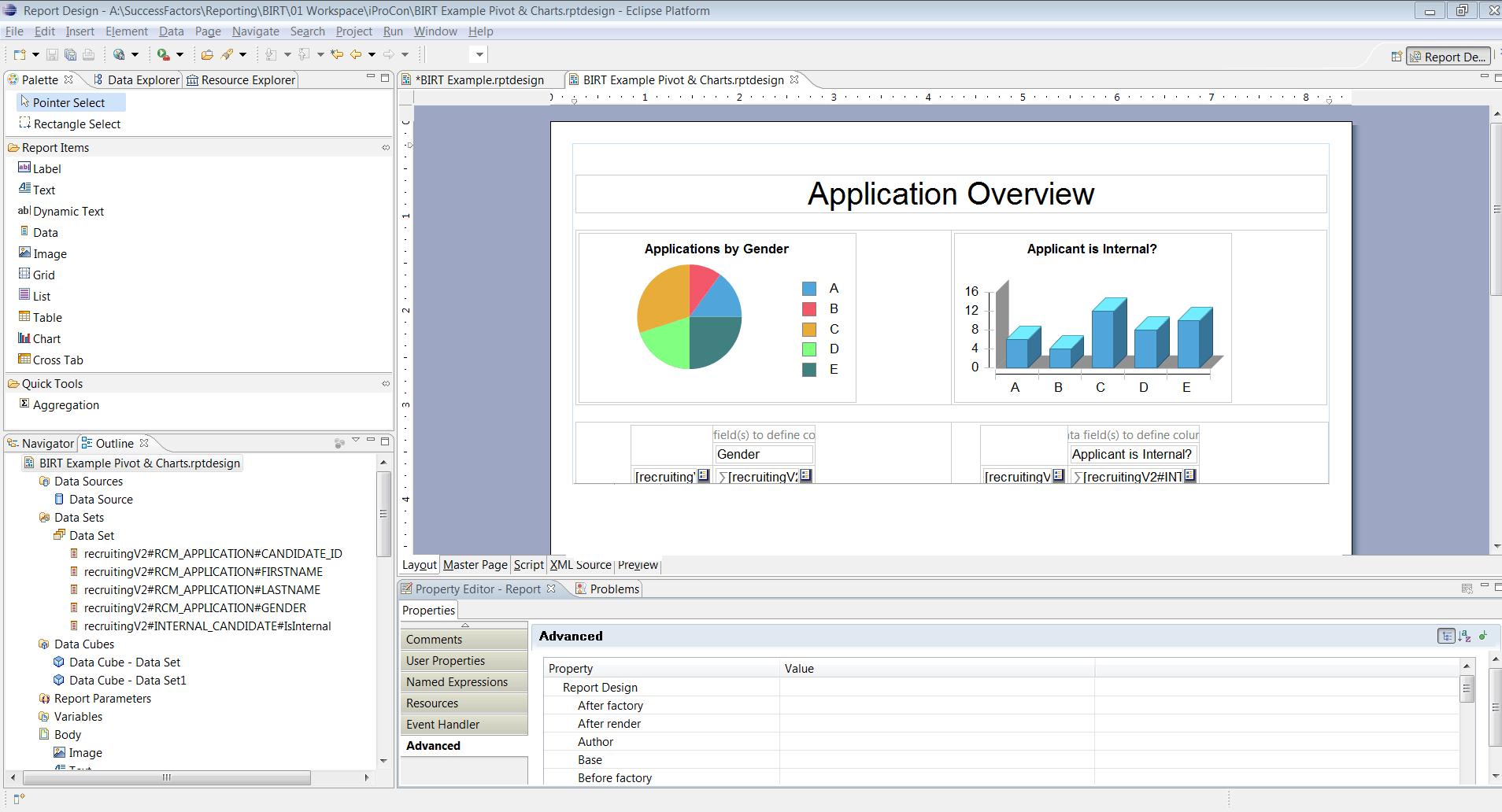 Birt Report Templates In Sap Successfactors – Part 3 - Ixerv Pertaining To Birt Report Templates