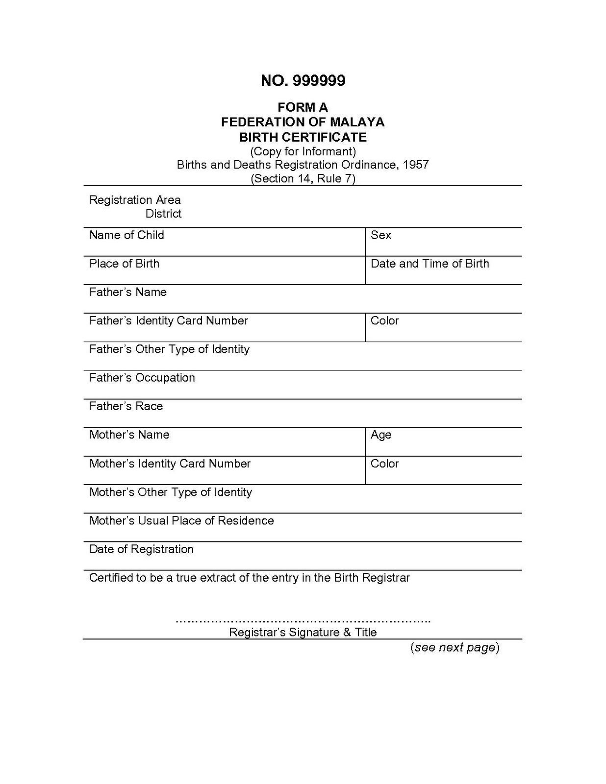 Birth Certificate Translation Template English To Spanish Intended For Birth Certificate Translation Template English To Spanish