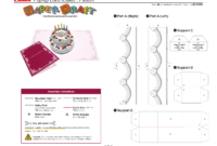 Birthday Cake Pop-Up Card Template | Card Making | Pop Up intended for Pop Up Wedding Card Template Free