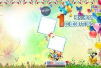 Birthday Flex Banner Design Psd Template Free Downloads within Free Happy Birthday Banner Templates Download