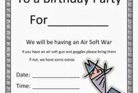 Birthday Party Invitation Templates Microsoft Word within Birthday Card Template Microsoft Word