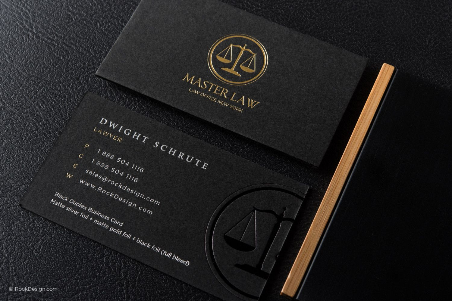 Black And Gold Law Business Card Template 9 | My Card Pertaining To Lawyer Business Cards Templates