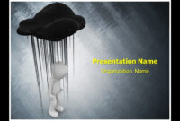 Black Cloud Depression Powerpoint Template Ppt Design |  Thetemplatewizard pertaining to Depression Powerpoint Template