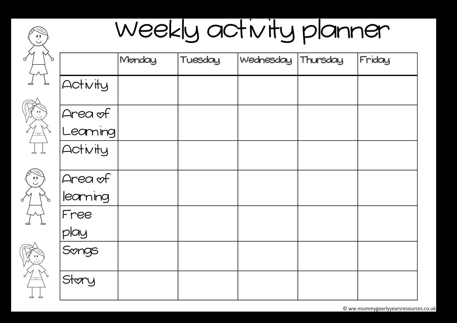 Blank Activity Calendar Template 28 Templates Also With Pertaining To Blank Activity Calendar Template