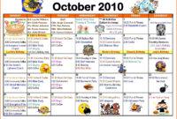 Blank Activity Calendar Template New Activity Calendar inside Blank Activity Calendar Template