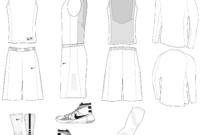 Blank Basketball Jersey Template 12 – 2514 X 2115 – Making within Blank Basketball Uniform Template