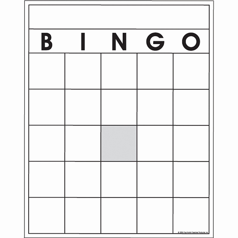 Blank Bingo Card Template | Locksmithcovington Template Throughout Blank Bingo Template Pdf