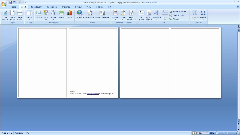 Blank Business Card Template Microsoft Word 2013 Free Regarding Word 2013 Business Card Template