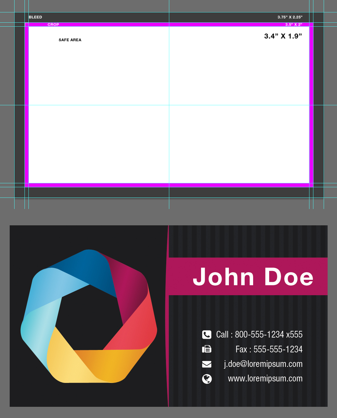 Blank Business Card Template Psdxxdigipxx On Deviantart Pertaining To Photoshop Business Card Template With Bleed