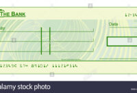 Blank Cheque Stock Photos & Blank Cheque Stock Images – Alamy regarding Blank Cheque Template Uk