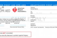Blank Cpr Card Template | Invitation Card intended for Cpr Card Template