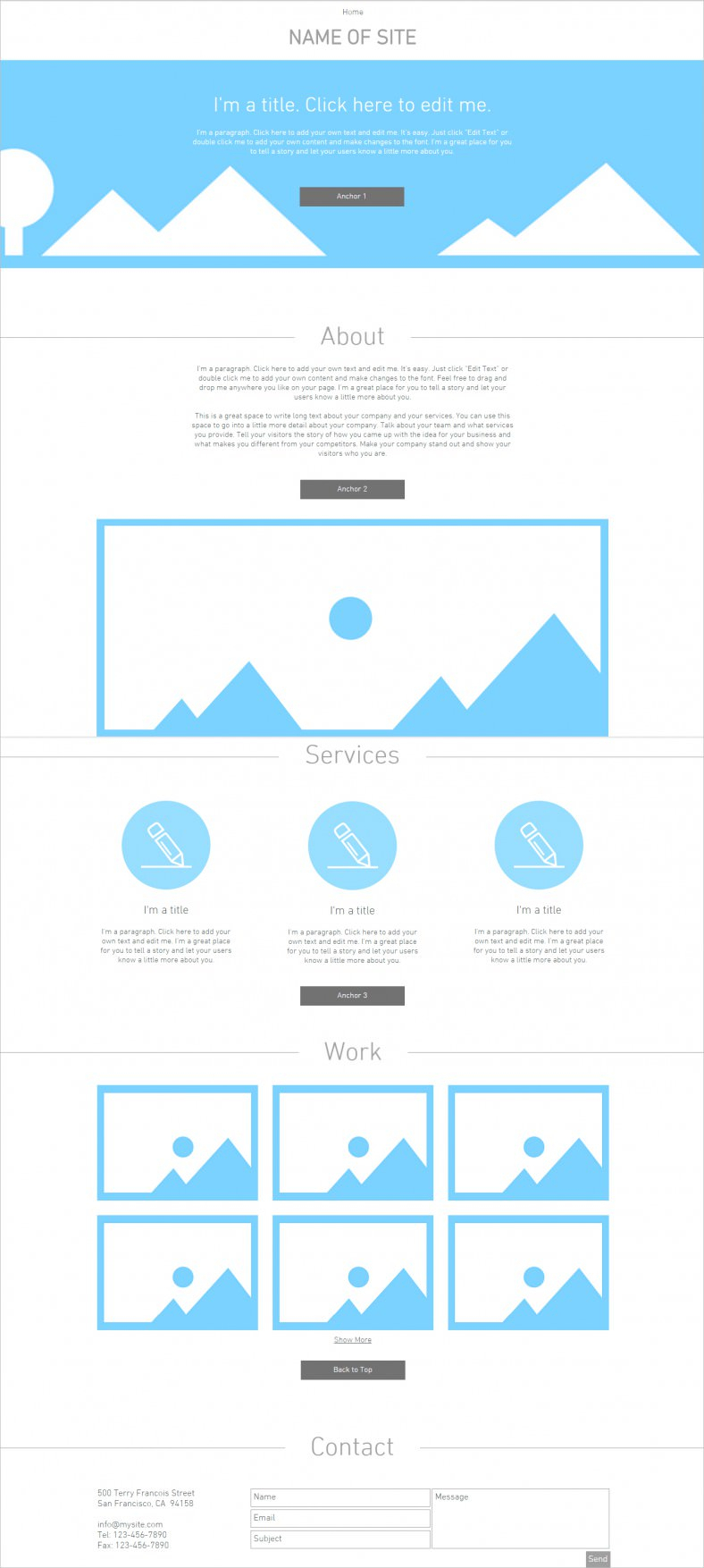 Blank Html5 Website Templates & Themes | Free & Premium With Regard To Html5 Blank Page Template