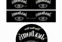 Blank Jack Daniels Label Template Best Of Download Vector With Blank Jack Daniels Label Template