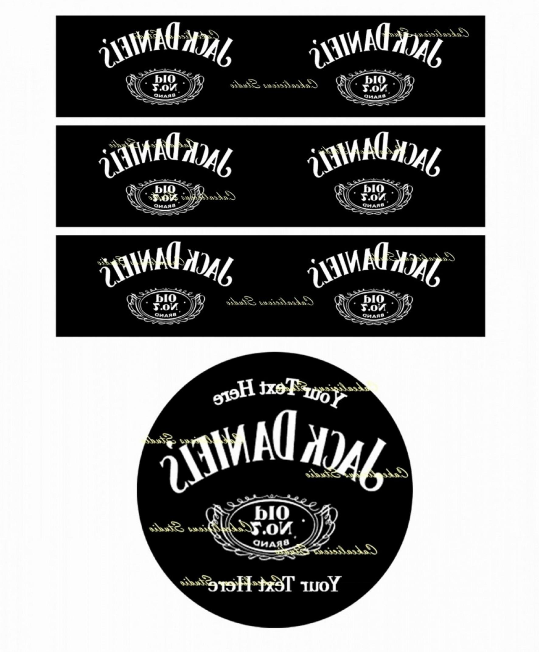 Blank Jack Daniels Label Template Best Of Download Vector With Blank Jack Daniels Label Template