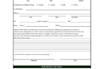 Blank Police Tickets To Print – Fill Online, Printable inside Blank Parking Ticket Template