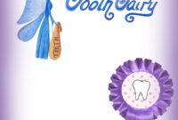 Blank Purple Tooth Fairy Certificate | Rooftop Post Printables for Tooth Fairy Certificate Template Free