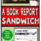 Book Report Sandwich: 7 Layer Sandwich Book Report Throughout Sandwich Book Report Printable Template